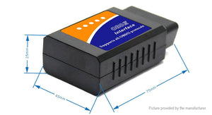 V03H2 Bluetooth OBD2 OBDII Car Diagnostic Tool - Area 399 Hachune Rage