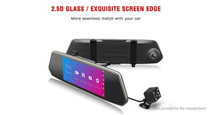 "7"" Touch Screen 1080p HD Car Dash Cam DVR Camcorder - Area 399 Hachune Rage"