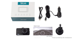 "T670 3"" 1080p HD Car Dash Cam DVR Camcorder - Area 399 Hachune Rage"