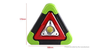 Solar Powered COB LED Camping Lantern Emergency Light GREEN CASING - Area 399 Hachune Rage