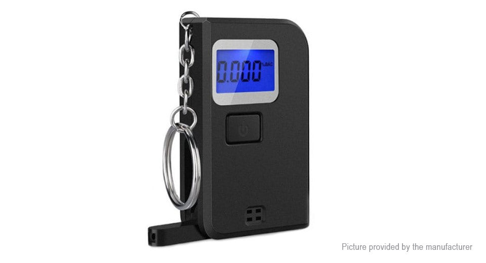 EK-300 Portable Mini Keychain Breathalyzer Digital Alcohol Tester - Area 399 Hachune Rage