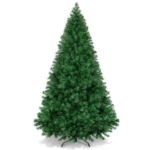 Best Choice Products 6ft Premium Hinged Artificial Christmas Pine Tree Holiday Decoration w/ Solid Metal Stand, 1,000 Tips, Easy Assembly - Green - Area 399 Hachune Rage