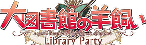 Daitoshokan no Hitsujikai - A Good Librarian Like a Good Shepherd - Library Party - PS4 - Area 399 Hachune Rage