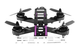 FASTTECH Little Bee FPV Race Quadcopter DIY Kit BLACK 210mm - Area 399 Hachune Rage