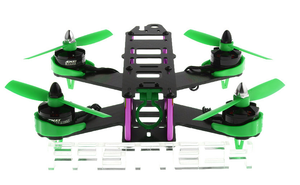 FASTTECH Little Bee FPV Race Quadcopter DIY Kit GREEN 210mm - Area 399 Hachune Rage