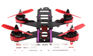 FASTTECH Little Bee FPV Race Quadcopter DIY Kit RED 210mm - Area 399 Hachune Rage