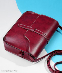 New High Quality Fashion Style Zipper Special Crossbody Bag RED - Area 399 Hachune Rage