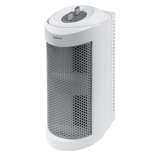 Holmes Allergen Remover Air Purifier Mini-Tower with True HEPA Filter, Three Speed (HAP706-NU) - Area 399 Hachune Rage