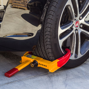 Heavy Duty Wheel Lock Automotive Anti Theft Wheel Boot - Area 399 Hachune Rage