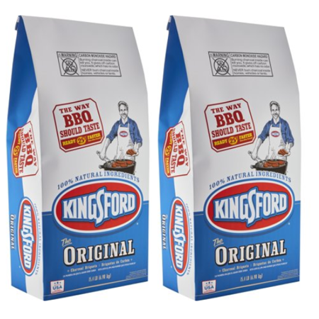 Kingsford Original Charcoal Briquettes, Two 15.4 lb Bags - Area 399 Hachune Rage