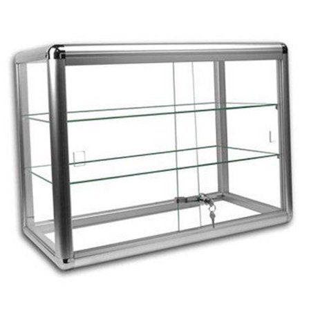 Glass Countertop Display Case Showcase with front lock set - Area 399 Hachune Rage