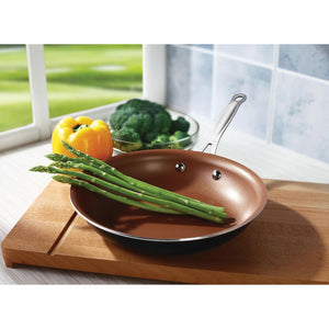 "Brentwood Nonstick Induction Copper Fry Pan (10"") - Area 399 Hachune Rage"