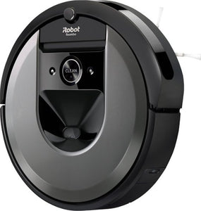 iRobot - Roomba i7+ 7550 App-Controlled Self-Charging Robot Vacuum with Automatic Dirt Disposal - Charcoal - Area 399 Hachune Rage