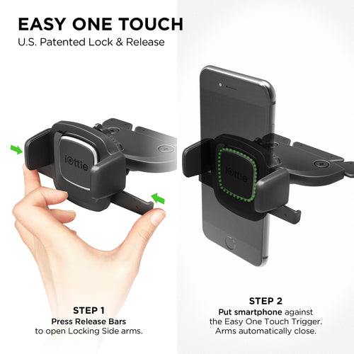 iOttie Cell Phone CD Slot Holder - Area 399 Hachune Rage