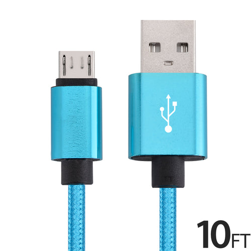 Micro USB Android cable charger 10ft - Area 399 Hachune Rage