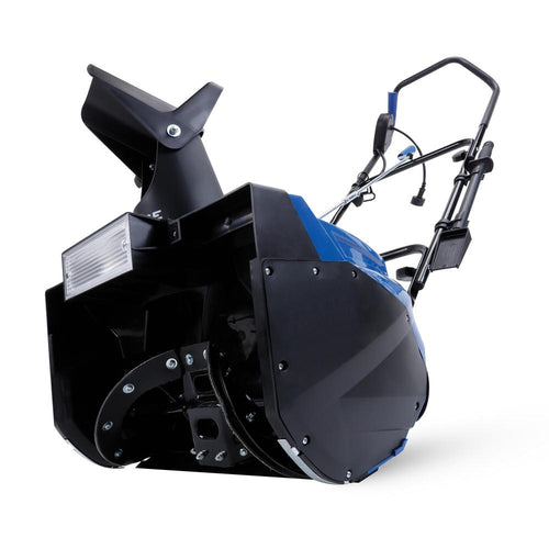 Snow Joe SJ623E Electric Single Stage Snow Thrower | 18-Inch | 15 Amp Motor | Headlights - Area 399 Hachune Rage