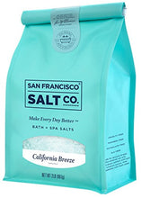 Load image into Gallery viewer, California Breeze Bath Salts 2 lb. Bag by San Francisco Salt Company