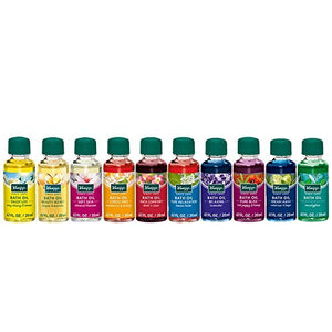 Kneipp Herbal Bath Oil Gift Set of 10 Travel Size Oils