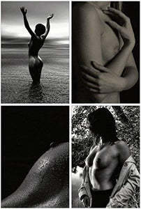 Erotic Postcards - Set of 20 beautiful black and white postcards showing female nude photographs - 10 unique