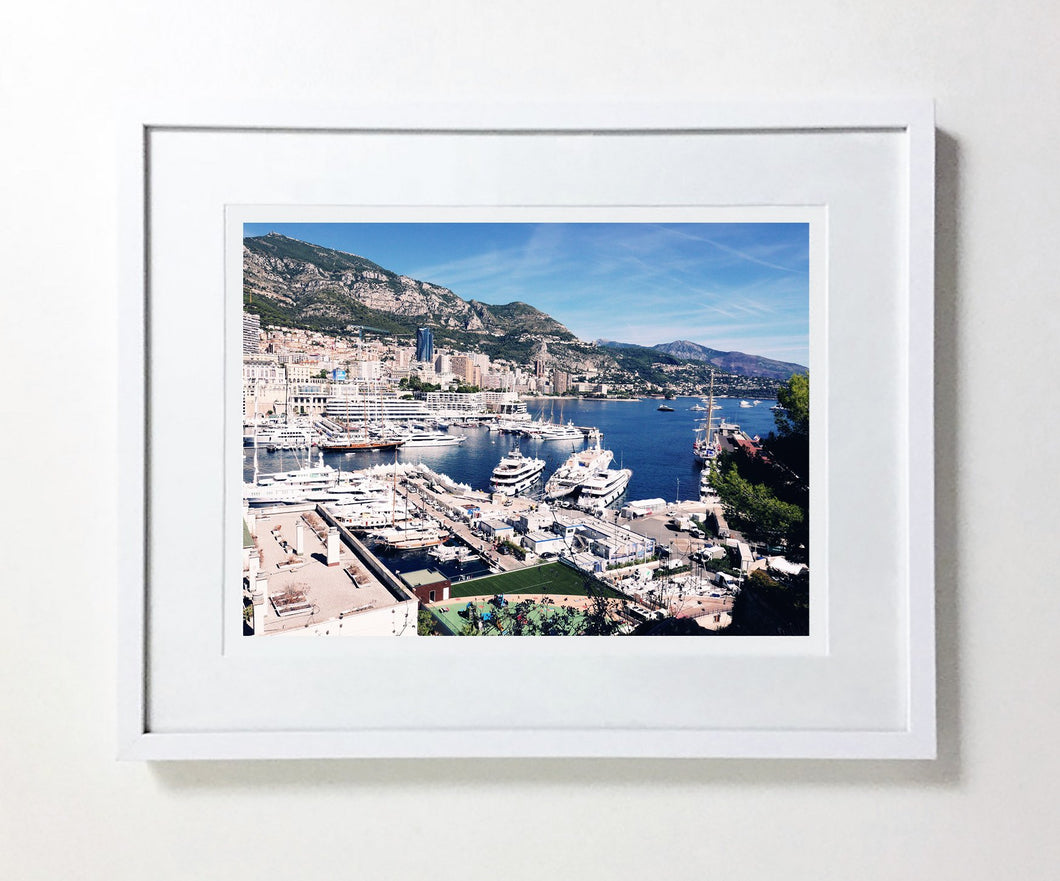 Monte Carlo Harbour #1 (Ltd Edition)