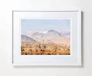 Langdale Pikes in Winter (Limited Edition)