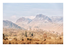 Load image into Gallery viewer, Langdale Pikes in Winter (Limited Edition)