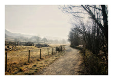 Load image into Gallery viewer, Path To Elterwater in Winter (Open Edition)