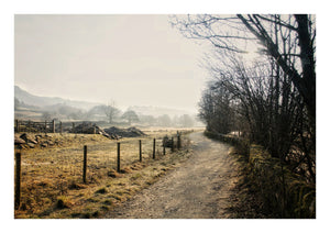 Path To Elterwater in Winter (Open Edition)