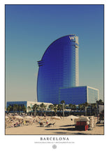 Load image into Gallery viewer, Barcelona Beach (Poster)