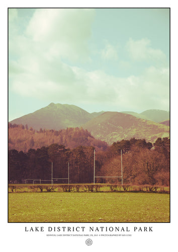 Keswick, Lake District National Park (Signed Poster)