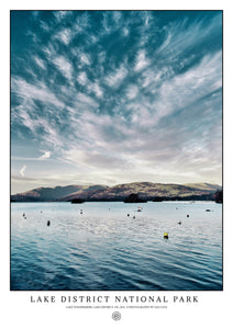 Lake Windermere, Lake District National Park (Poster)