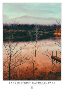 Grasmere Lake, Lake District National Park (Signed Poster)