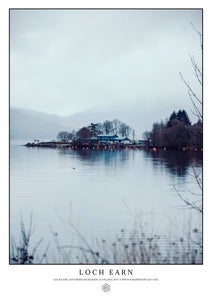 Loch Earn, Scotland (Signed Poster)