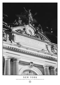 Grand Central Terminal, New York (Signed Poster)