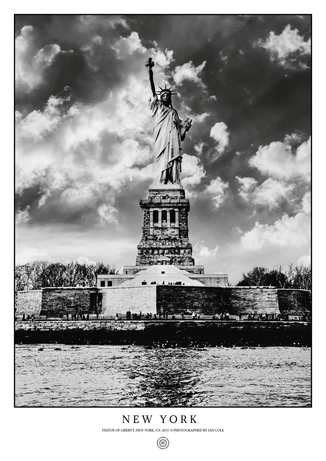 Statue of Liberty, New York (Poster)