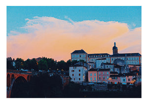 Albi Skyline at Night by Ian Cole (Limited Edition)