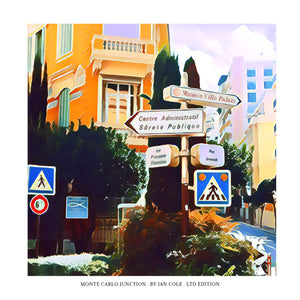 Monte Carlo Junction (Ltd Edition Print)