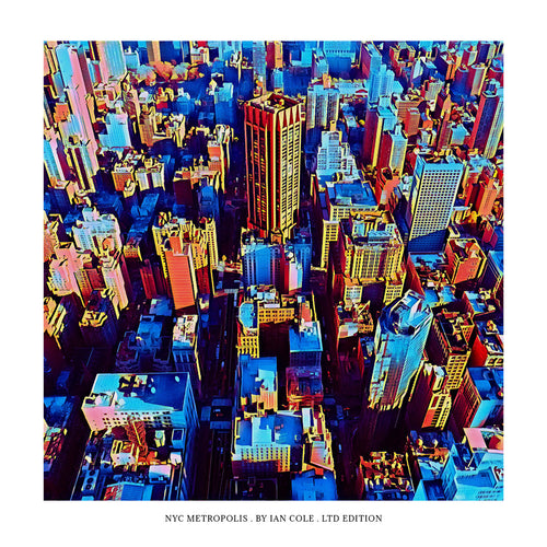 NYC Metropolis (Ltd Edition Print)