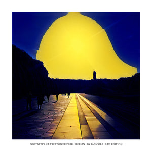 Footsteps at Treptower Park - Berlin (Ltd Edition Print)