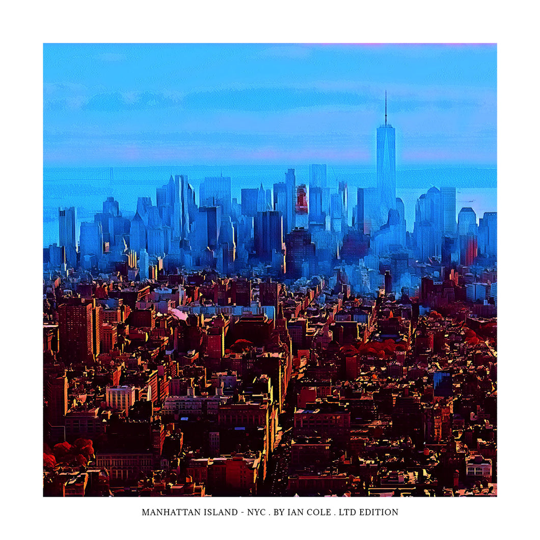 Manhattan Island (Ltd Edition Print)