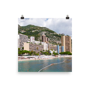 Monte Carlo Beach (Open Edition)