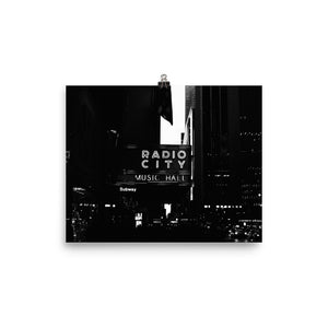 Radio City Music Hall, New York (Open Edition)