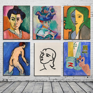Matisse Best Wallpaper Wall Art Canvas Posters And Prints Canvas Painting Decorative Pictures For Office Living Room Home Decor