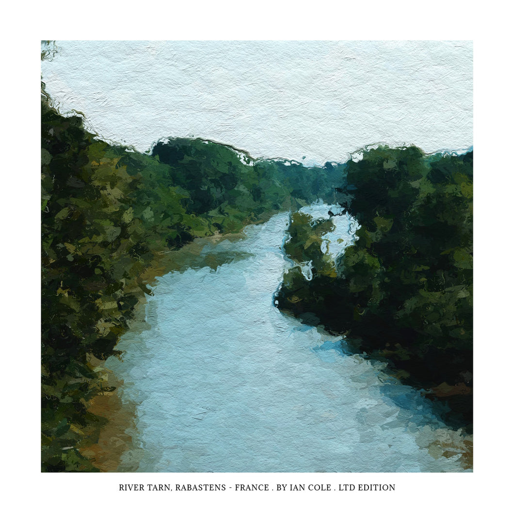 Tarn River, Rabastens, France (Ltd Edition Print)