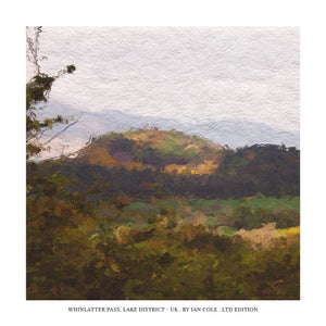 Whinlatter Pass B5292, Lake District (Ltd Edition Print)
