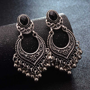 SHUANGR Tassel Dangle Earrings - TK Trends Boutique