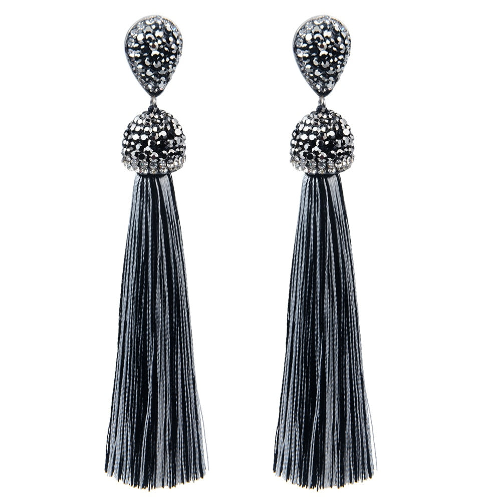 Bohemian Tassel Earrings - TK Trends Boutique
