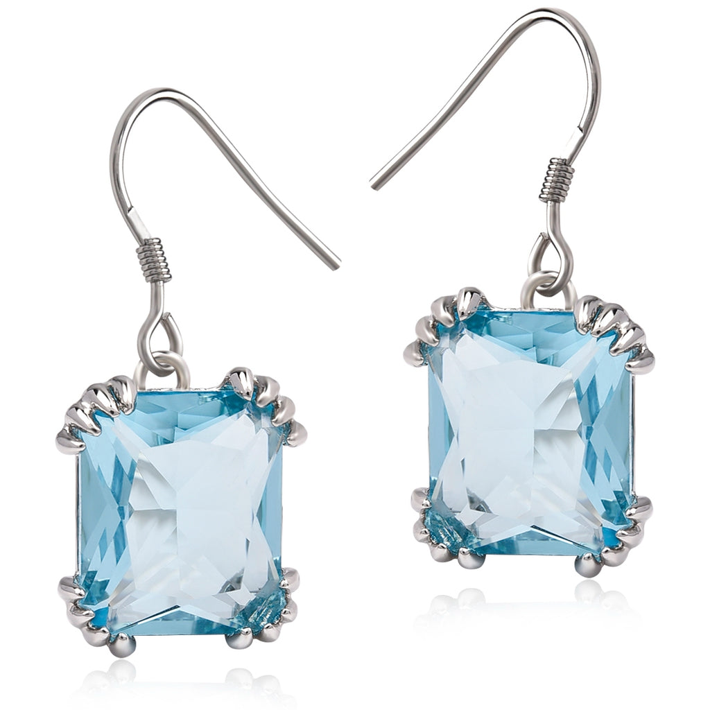 Vintage Crystal Stone Drop Earrings - TK Trends Boutique