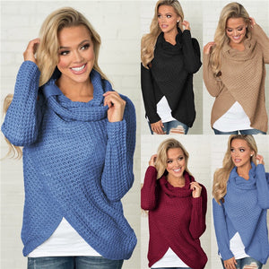 Women's Knitted Sweater - TK Trends Boutique