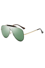SEVILLE Green Sunglasses